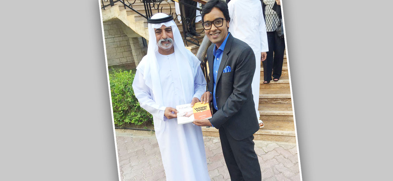 with his excellency Sheikh Nahyan Bin Mubarak Al Nahyan - Minister of Culture and Knowledge Development, UAE