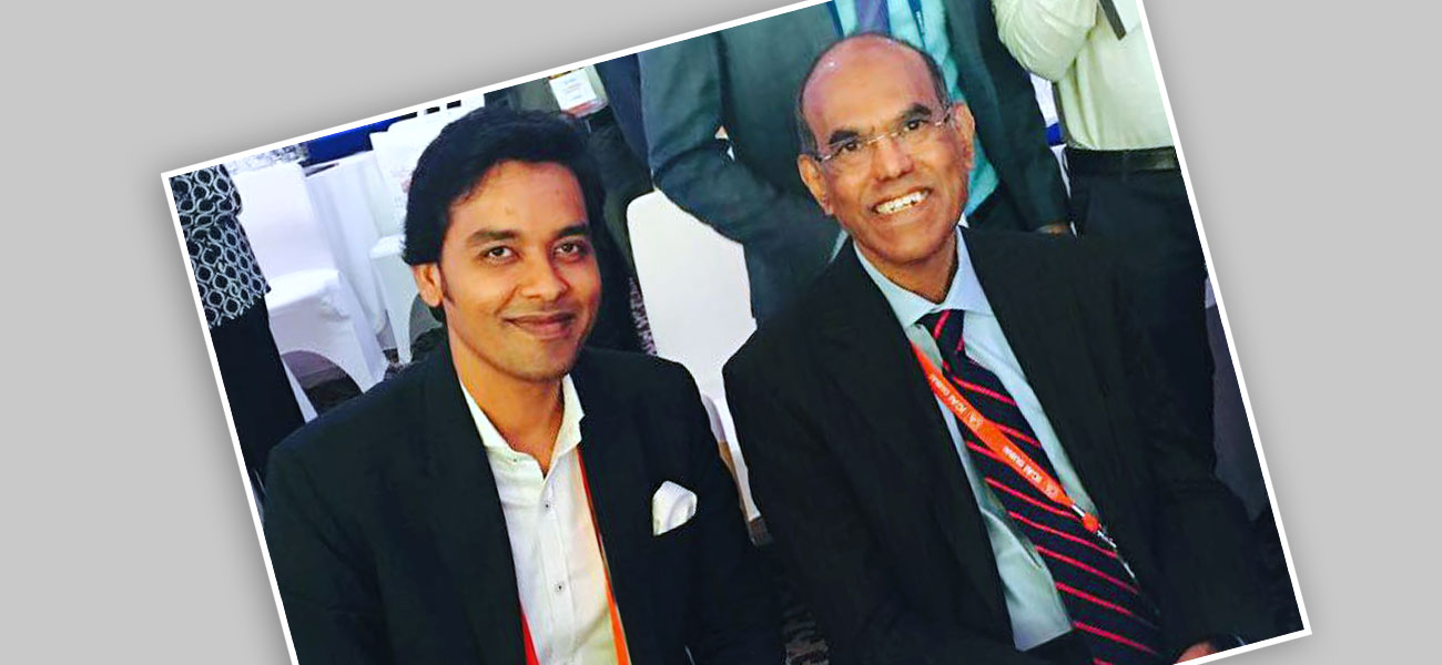 With Duvvuri Subbarao - Former RBI Governor