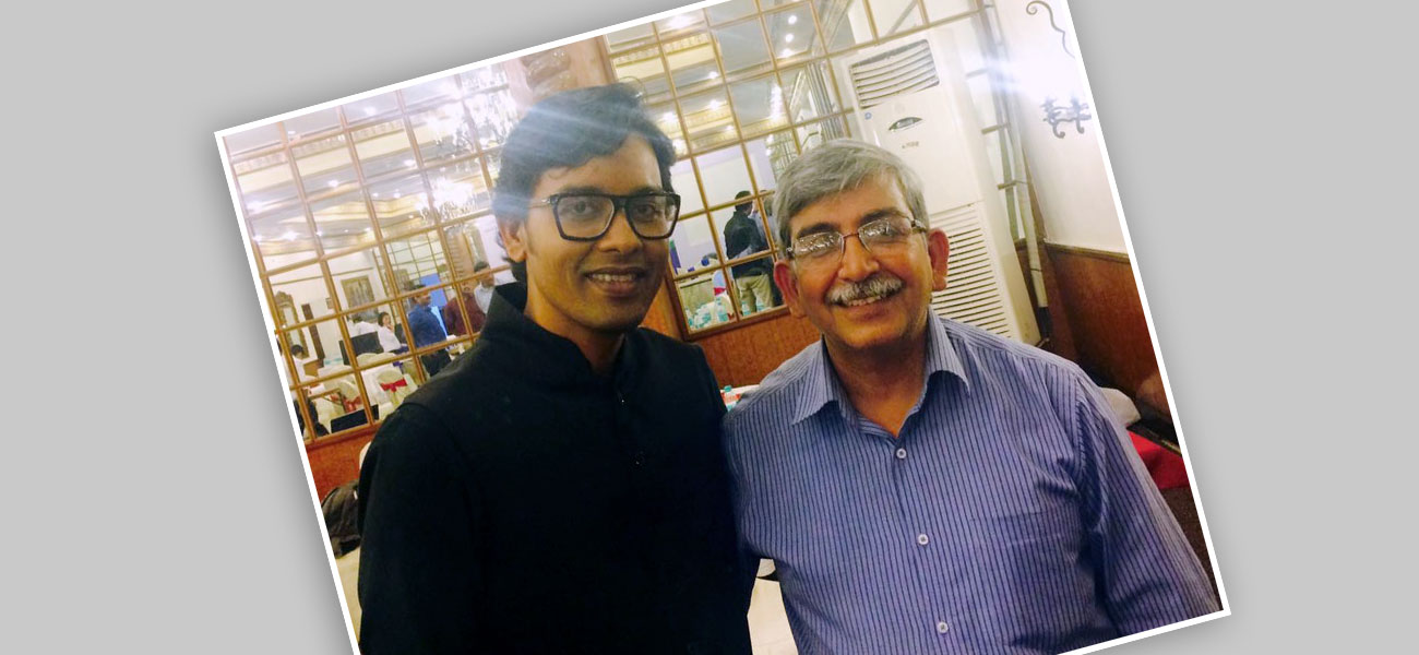 With Dr. A.K Singh – National Advisor on Nutrition to GOI