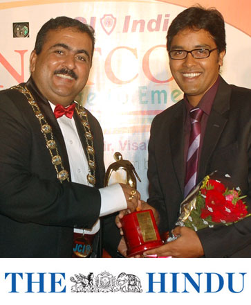 Outstanding Young Person award India